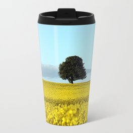 Fife's Golden Fields Of Rapeseed. Travel Mug