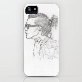 harry sketch iPhone Case