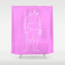 Quiero ser un Perro Shower Curtain