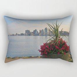 Skyline of Halifax, Nova Scotia Rectangular Pillow