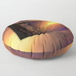 Leviathan Sunset Floor Pillow