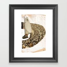 Sail Framed Art Print