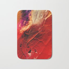 Autumn Abstract Bath Mat
