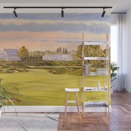 Whistling Straits Golf Course 9th And 18th Wall Mural