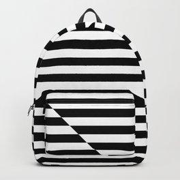 SCAN LINE (BLACK-WHITE) Backpack