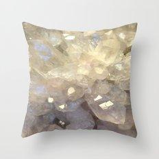 crystal2 Throw Pillow