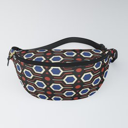 Vintage wallpaper from seventies - Electro version. Fanny Pack