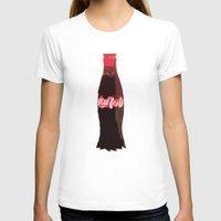 coke T-shirts featuring Coke-Man by colleencunha