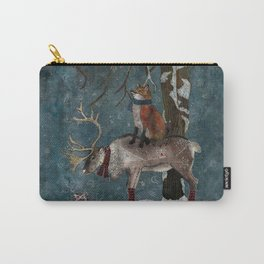 Winter Tale Carry-All Pouch