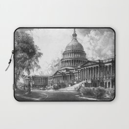 United States Capitol Building Laptop Sleeve