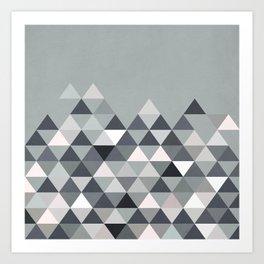 Nordic Combination 25 Art Print