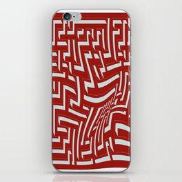 Devastated maze iPhone Skin