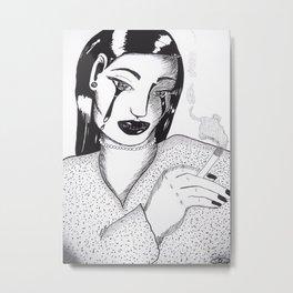 ''Habits'' Metal Print
