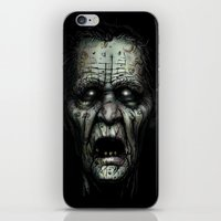 zombie iPhone & iPod Skins featuring Zombie by Havard Glenne