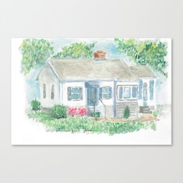 Brentwood Canvas Print