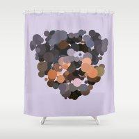 rottweiler Shower Curtains featuring Rottweiler by Glen Gould