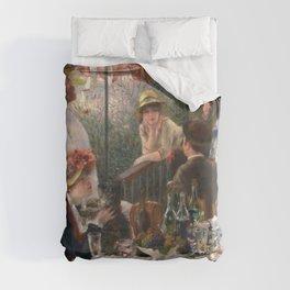 Auguste Renoir - Luncheon of the Boating Party (Le déjeuner des canotiers) Duvet Cover