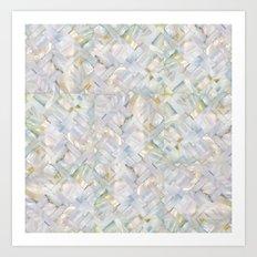 woven seashells Art Print