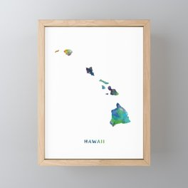 Hawaii Framed Mini Art Print
