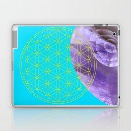 Mystical Flower of Life Amethyst #society6 Laptop & iPad Skin