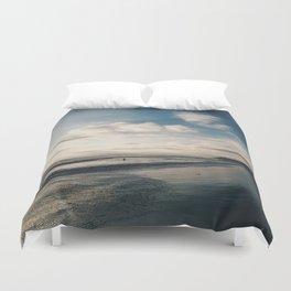 Sunset on the Seashore Duvet Cover