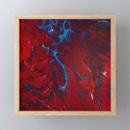 Inflamed Framed Mini Art Print