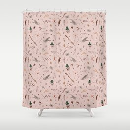 Witches and wizards Shower Curtain