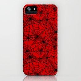 Demon Webs iPhone Case
