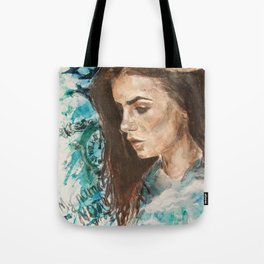 My name is not 'little girl' Tote Bag