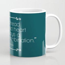 A Good Head and A Good Heart Coffee Mug