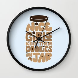 Cookie Jar Wall Clock