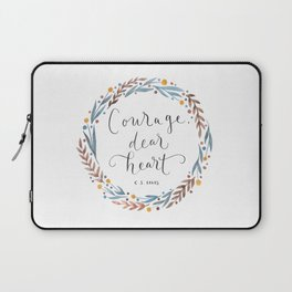 Courage Dear Heart Laptop Sleeve