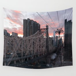 Roosevelt Island Tramway Wall Tapestry