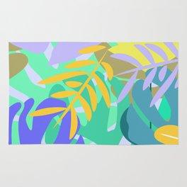 Soft tropical Rug