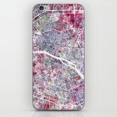 Paris Map iPhone & iPod Skin