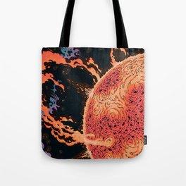 Cosmic Chaos - Solar Ir Tote Bag