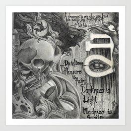 666 Mix Art Print