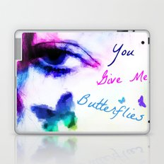 You Give me Butterflies... Laptop & iPad Skin