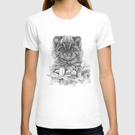 Asian Leopard Cat Cub G096 T-shirt