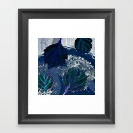 A blue symphony for Anna Framed Art Print