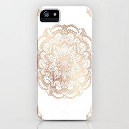 Mandala Gold Shine I iPhone Case