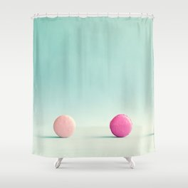 Macarons, macaroons, minimalist, pop art Shower Curtain