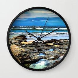 Beachscape, Hungry Head (1) Wall Clock