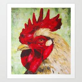 Chicken 2 Art Print
