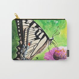 Butterfly - Morning light - by LiliFlore Carry-All Pouch