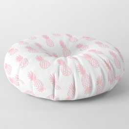 Coral Pineapple Floor Pillow