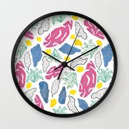 Palmas Pattern Wall Clock