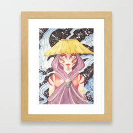 Katara Avatar The Painted Lady Framed Art Print