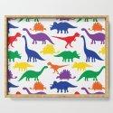Dinosaurs - White by dizanadesigns
