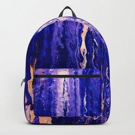 Abstract Acrylic Backpack